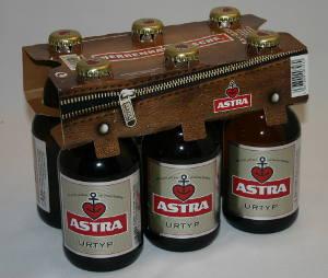 herrenhandtasche mit sechs Astra Urtyp