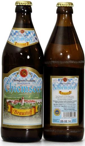 Chiemseer Braustoff Chiemgauer Brauhaus